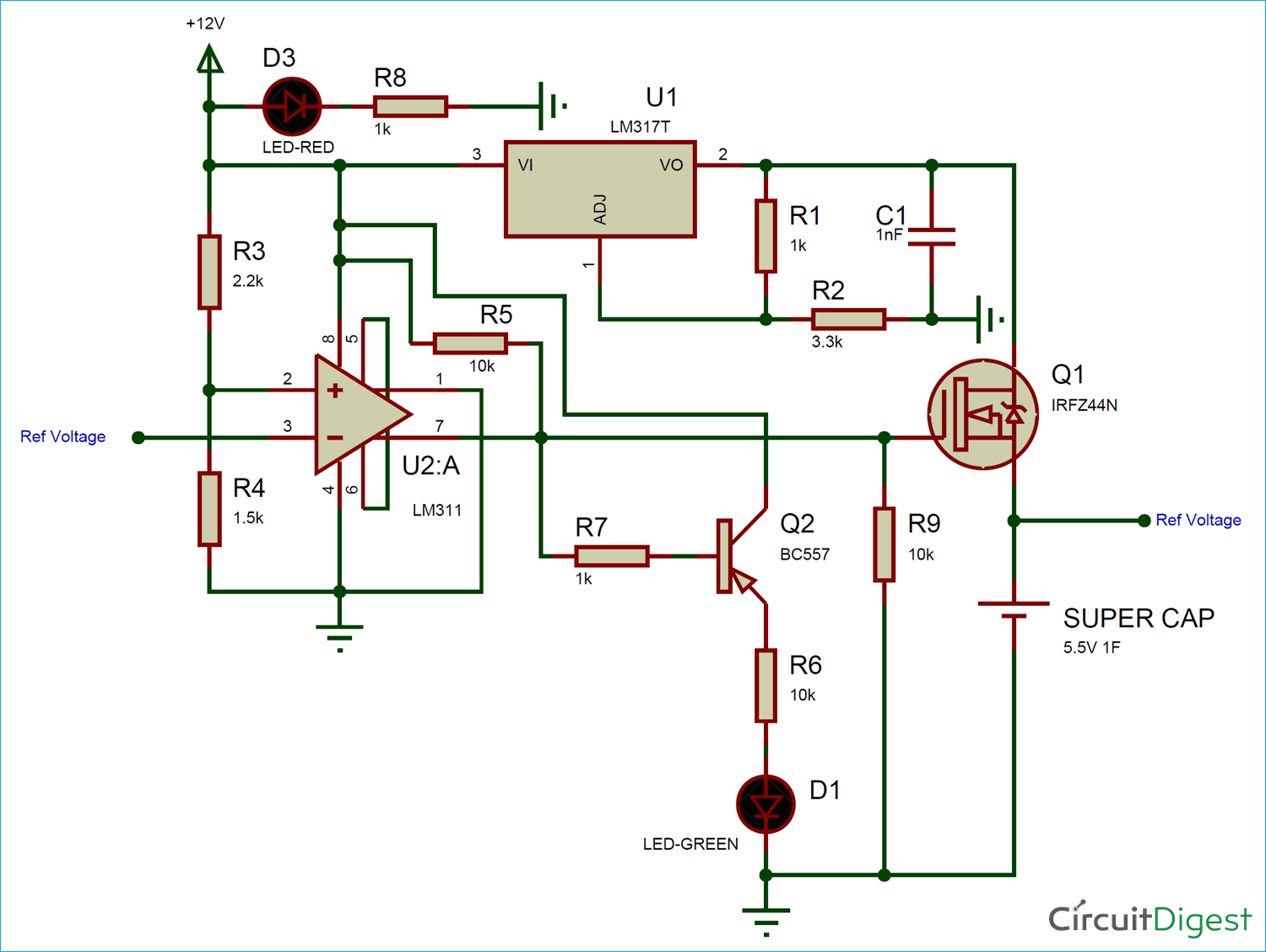 hight resolution of supercapacitor charger circuit diagram