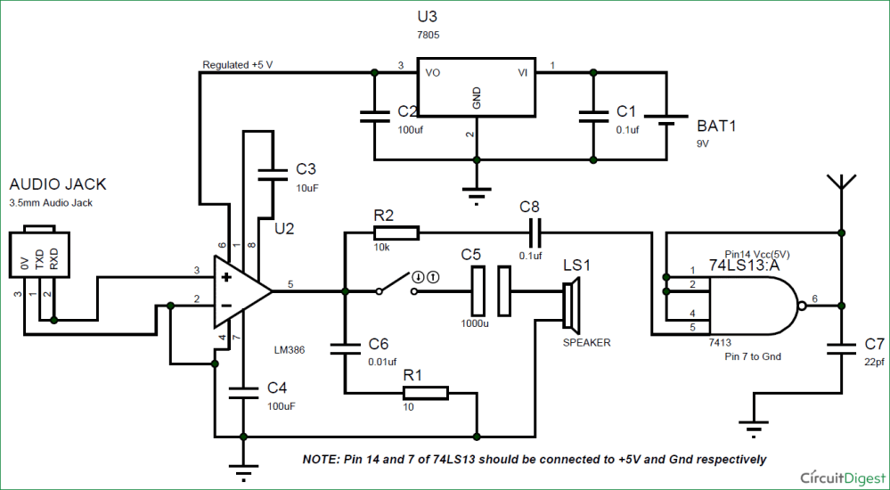 medium resolution of diy simple fm transmitter circuit diagram
