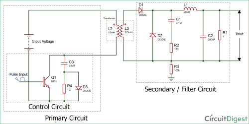 small resolution of circuit diagram for forward converter