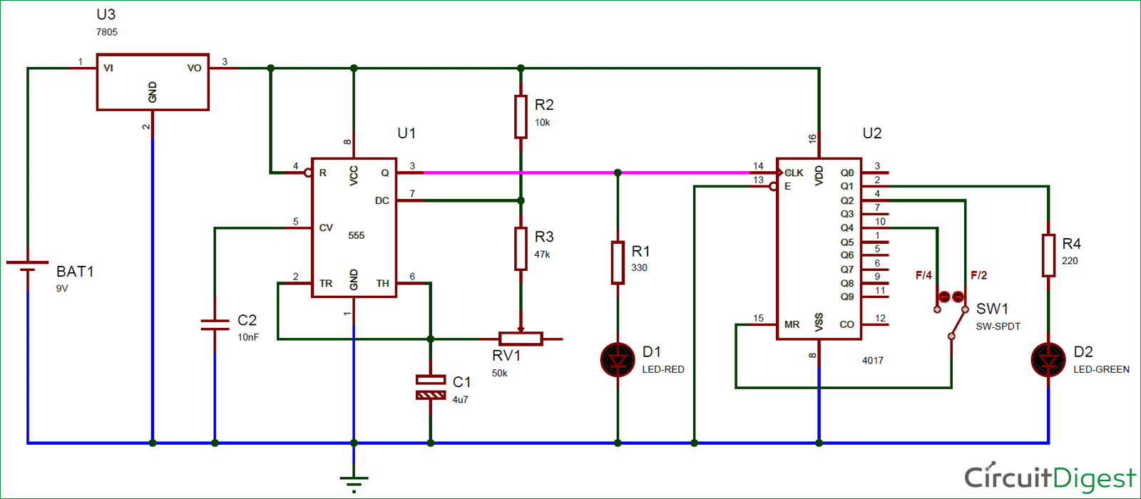 hight resolution of frequency divider circuit diagram