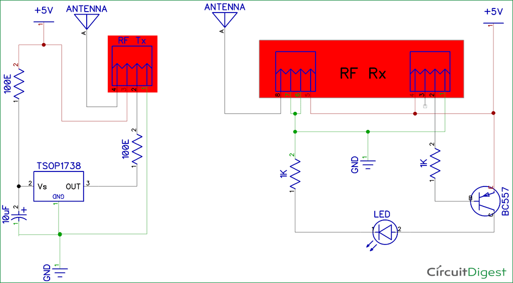 Infrared Wire Diagram