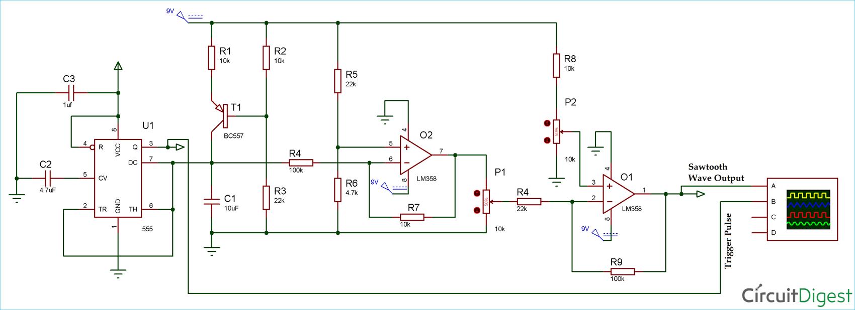 triangle fan wiring diagram [ 1700 x 618 Pixel ]