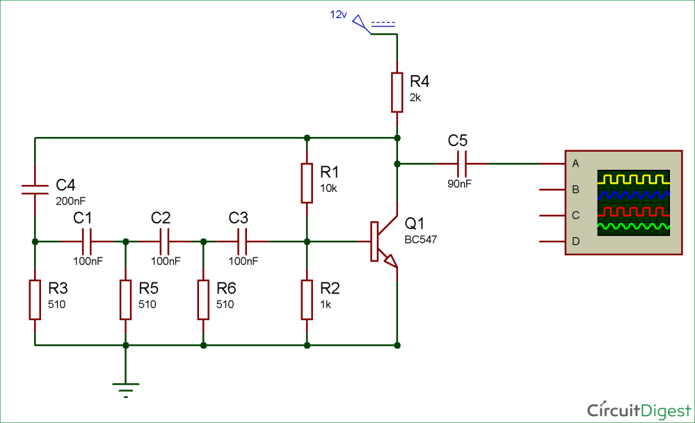medium resolution of simple sine wave generator circuit using transistor mix simple sine wave generator circuit diagram using transistor