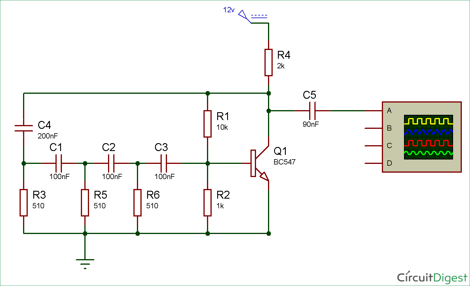 hight resolution of simple sine wave generator circuit using transistor mix simple sine wave generator circuit diagram using transistor