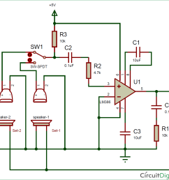fm mic circuit diagram [ 1192 x 1134 Pixel ]