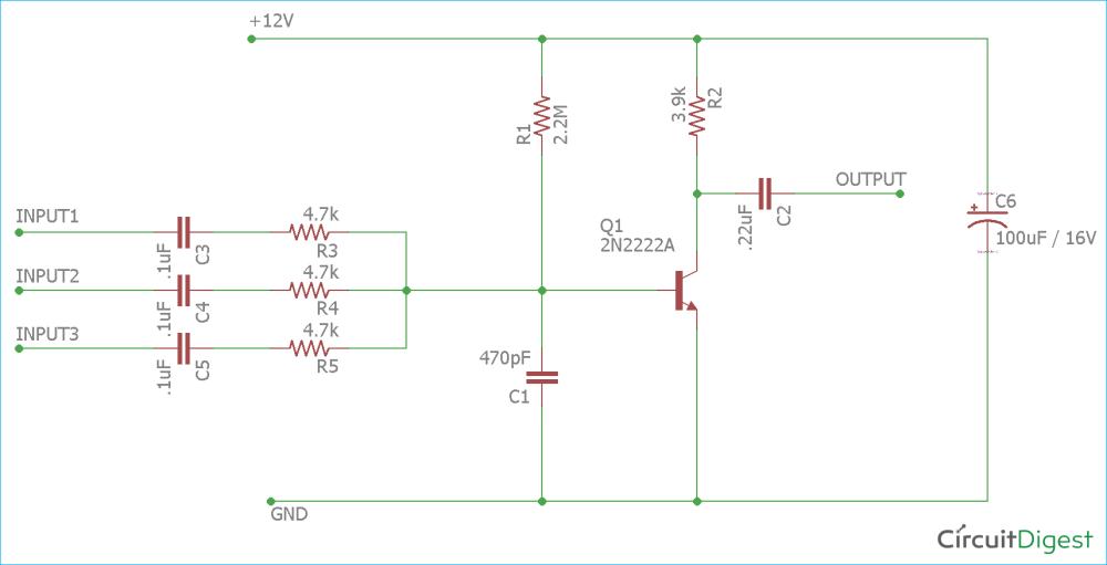medium resolution of single transistor audio mixer circuit diagram audio mixer circuit diagram pdf mixer circuit diagram