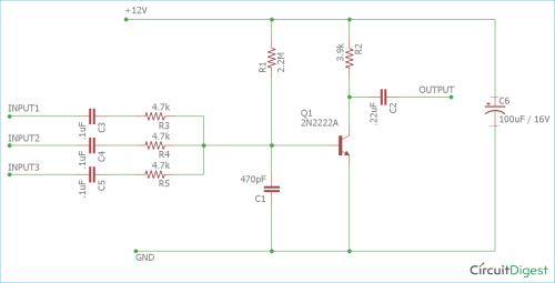 small resolution of single transistor audio mixer circuit diagram audio mixer circuit diagram pdf mixer circuit diagram