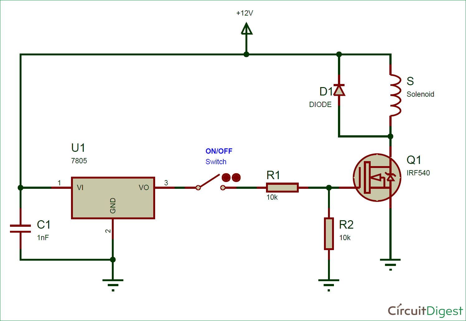 solenoid valve diagram how to understand home ethernet wiring driver circuit