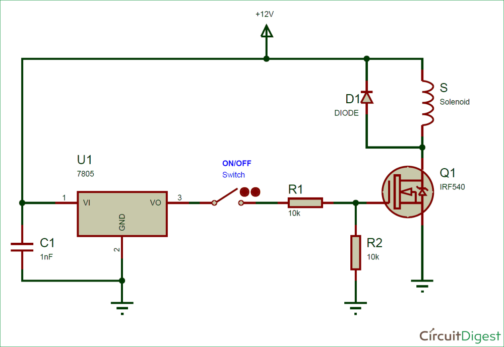 medium resolution of solenoid circuit diagram