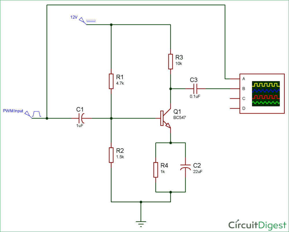 medium resolution of transistor amplifier circuit diagram