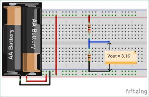 Potential or Voltage Divider Circuit Diagram and Formula