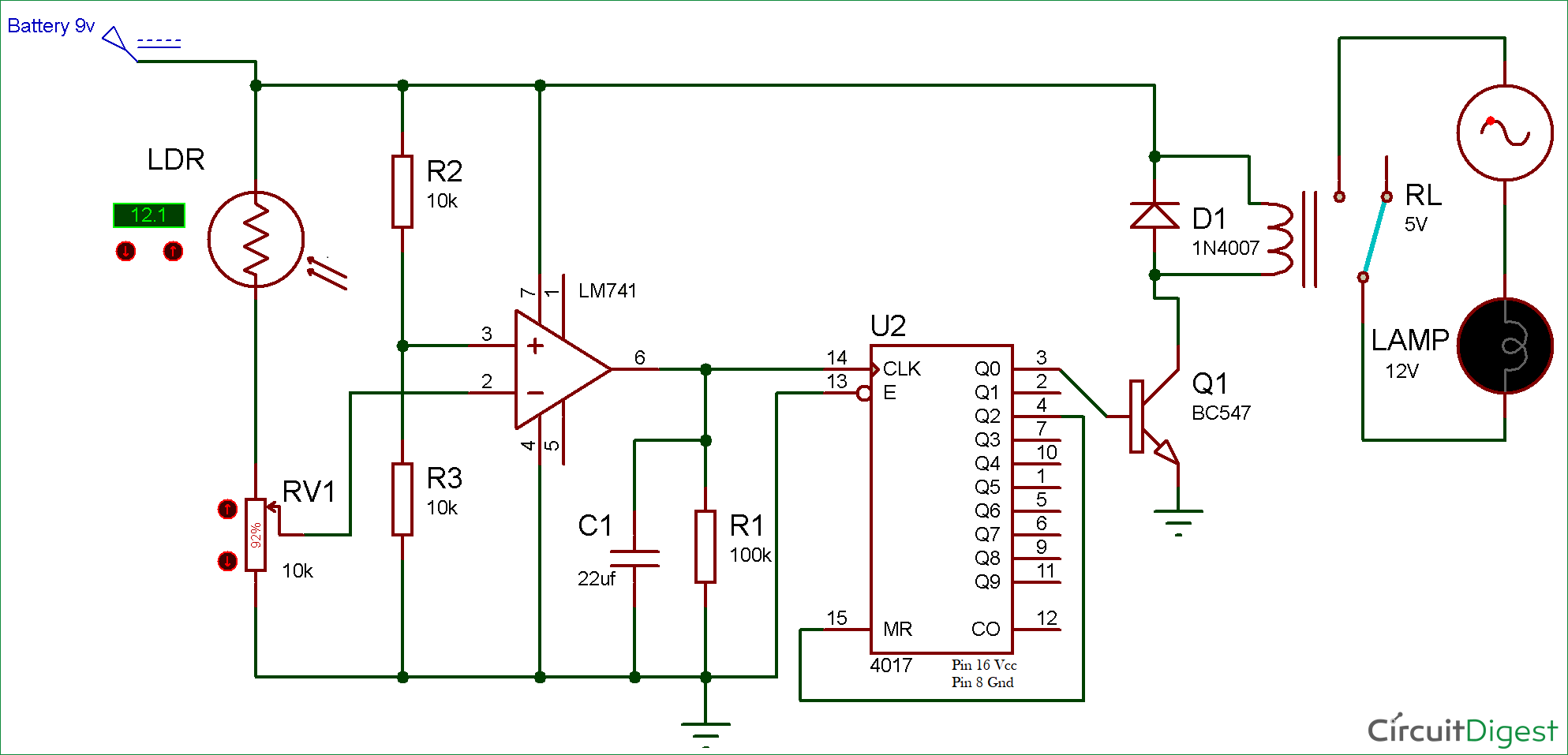 hight resolution of schematic of the electronic wireless light switch circuit wiring wireless switch circuit diagram wiring diagram show