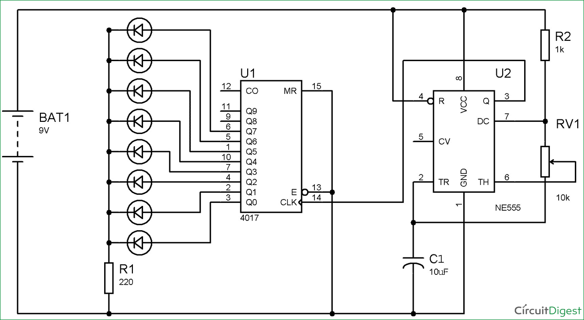 55timercircuitschematic 555 timer circuit electronic roulette wheel