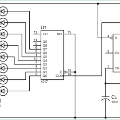 Led Wiring Diagram 9v Capacitive Proximity Sensor Circuit Best Library Of Roulette Using 555 Timer Ic
