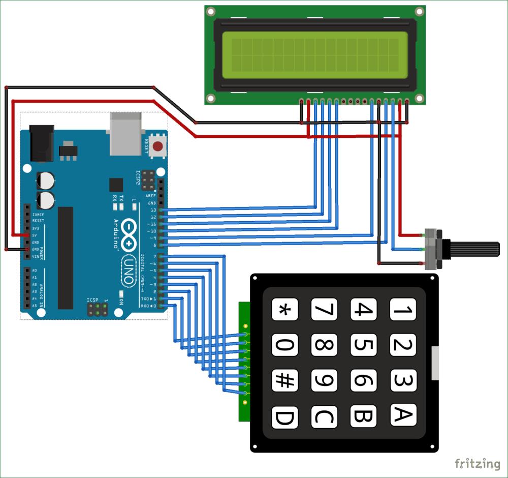 medium resolution of arduino calculator circuit diagram