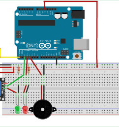 arduino rfid door lock circuit diagram [ 1500 x 868 Pixel ]