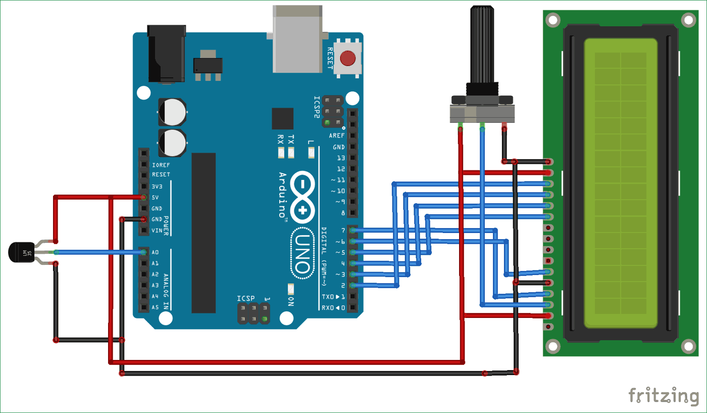 hight resolution of arduino based digital thermometer circuit diagram