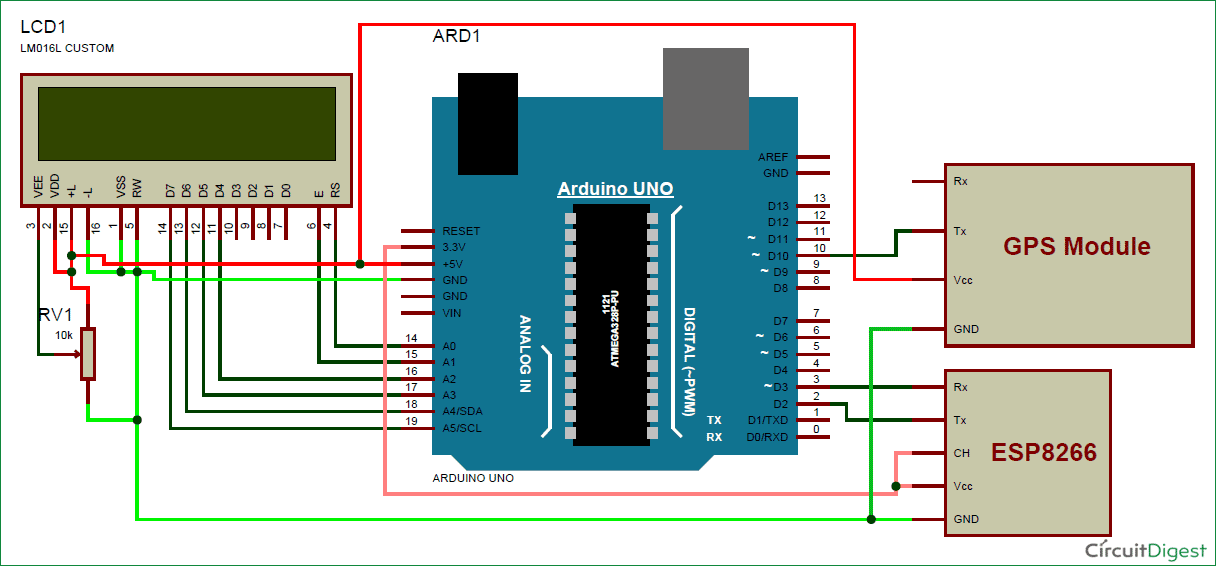Track A Vehicle On Google Maps Using Arduino  Esp8266