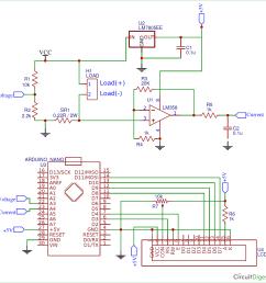 arduino wattmeter circuit diagram [ 1300 x 1316 Pixel ]