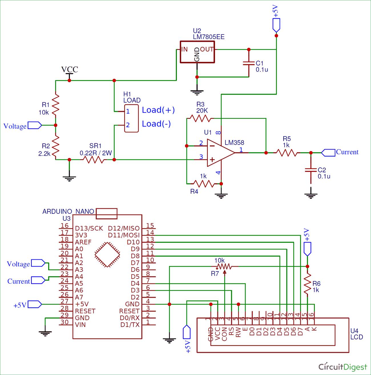 hight resolution of arduino wattmeter circuit diagram