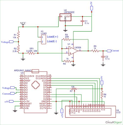 small resolution of arduino wattmeter circuit diagram