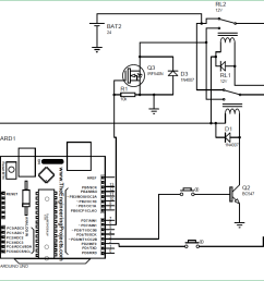 arduino based dc motor speed and direction control circuit diagram [ 1062 x 822 Pixel ]