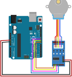 arduino stepper motor control tutorial with code and circuit diagram stepper motor wiring arduino arduino stepper [ 1212 x 1422 Pixel ]