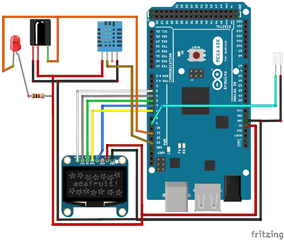 hight resolution of automatic ac temperature controller using arduino circuit diagram