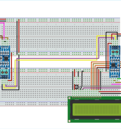 circuit diagram for rs 485 serial communication between raspberry pi and arduino uno [ 1500 x 765 Pixel ]