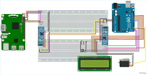 small resolution of circuit diagram for rs 485 serial communication between raspberry pi and arduino uno
