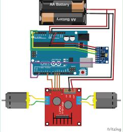 circuit diagram for diy self balancing robot using arduino [ 1280 x 1412 Pixel ]