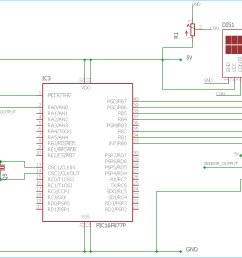 heart beat monitoring circuit diagram using pic microcontroller and pulse sensor [ 1382 x 860 Pixel ]