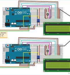 circuit diagram for i2c communication in arduino [ 1200 x 1123 Pixel ]