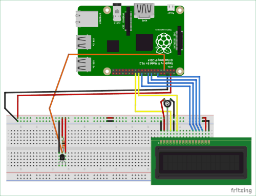 small resolution of circuit diagram for interfacing ds18b20 temperature sensor with raspberry pi