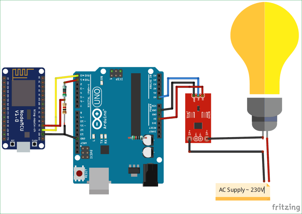 medium resolution of circuit diagram for iot based electricity energy meter using esp12 and arduino