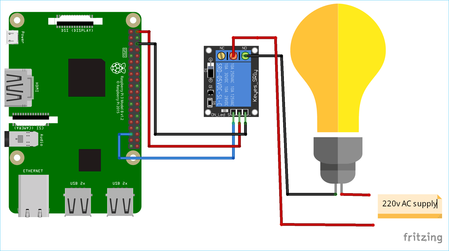 hight resolution of raspberry pi home automation project circuit diagram