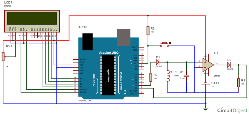 small resolution of circuit diagram for lc meter using arduino