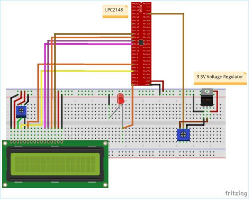 small resolution of circuit diagram for pulse width modulation pwm using arm7 lpc2148