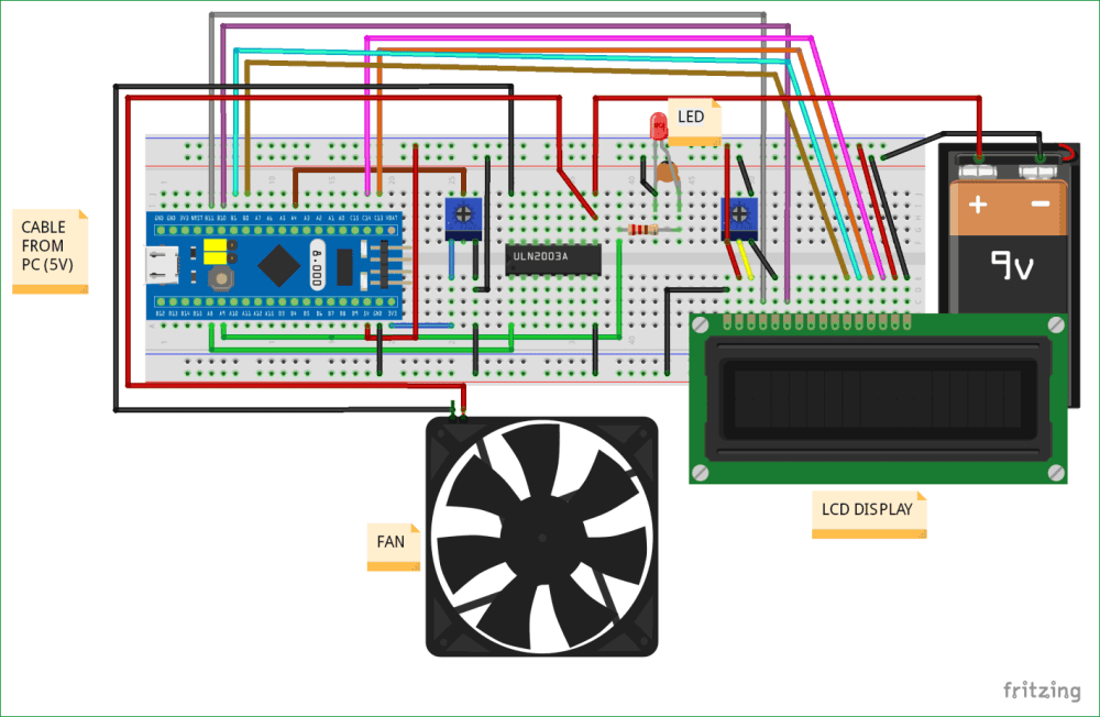 medium resolution of circuit diagram for pulse width modulation with stm32f103c8