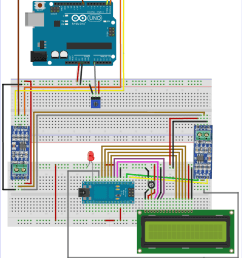 circuit diagram for rs485 serial communication between arduino uno and arduino nano [ 1000 x 1159 Pixel ]