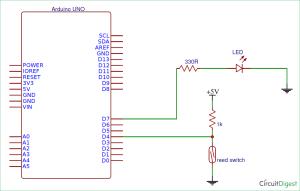 Arduino Reed Switch Interfacing Tutorial