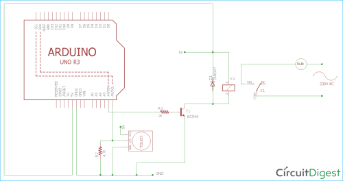 small resolution of arduino ttp223 touch sensor circuit diagram for controlling home lights with touch