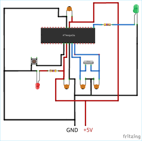 small resolution of circuit diagram for using pwm with avr microcontroller atmega16