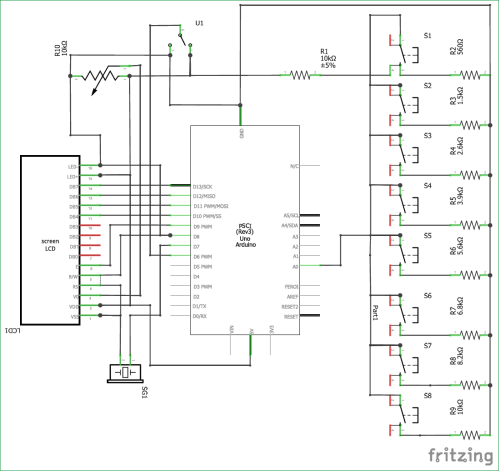 small resolution of circuit diagram for arduino based piano with recording and replay
