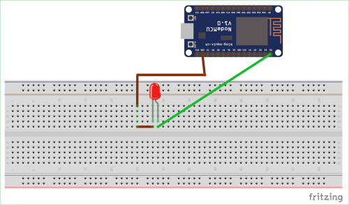 small resolution of circuit diagram for blink led with nodemcu esp 12