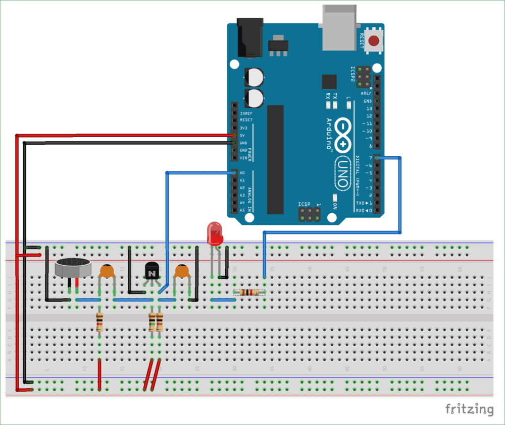 medium resolution of clap on off relay switch using arduino circuit diagram