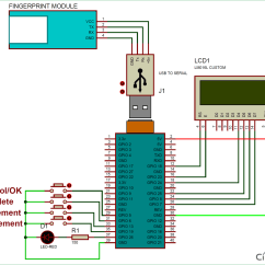 Raspberry Pi 2 Wiring Diagram 1992 Ford F150 Parts Fingerprint Sensor Interfacing Project With