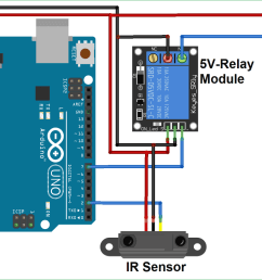 ir controlled dc motor circuit diagram using arduino [ 1500 x 999 Pixel ]