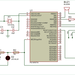 Pir Motion Sensor Wiring Diagram Honeywell Motorised Valve Interfacing With Pic Microcontroller