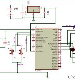 interfacing circuit diagram of joystick with pic micro controller [ 1154 x 856 Pixel ]